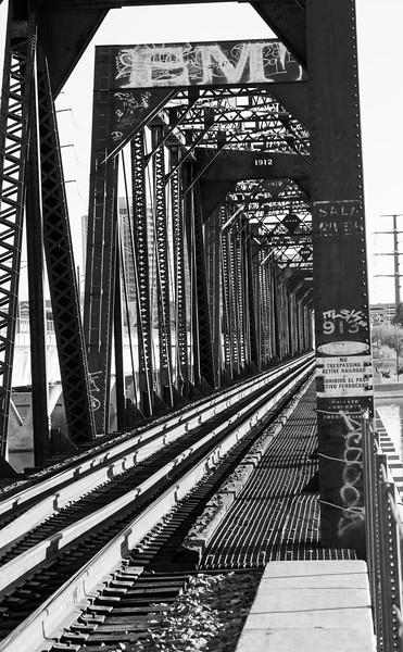 Train Bridge, Tempe Town Lake