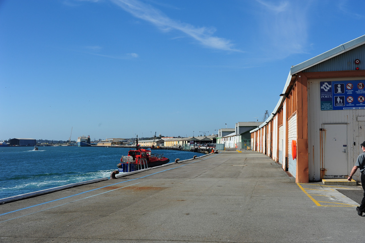 Wharf, Fremantle, Western Australia