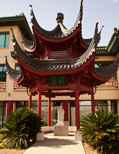 Part of the scenery of the Chinese Cultural Center in Phoenix, AZ