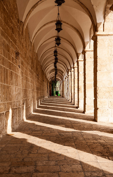 Corridor On Temple Mount