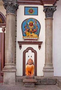 shiva shrine in Nepal