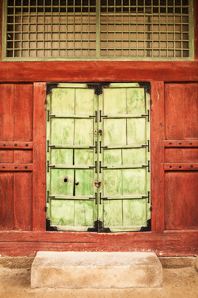 Korean Palace Door