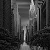 Dali's Distant Dream - Chrysler Building New York City - Manhattanhenge