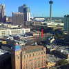 Downtown San Antonio <br /> Taken with Motorola Rizr.