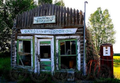 Gas Station Daniel, Wyoming
