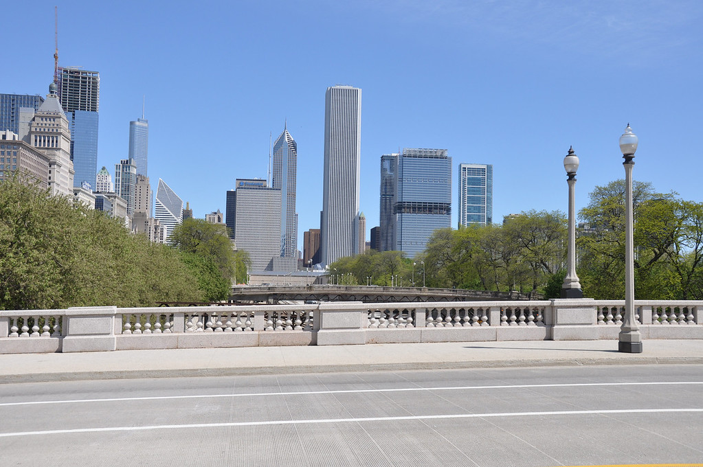 Downtown Chicago on Lake Shore Drive