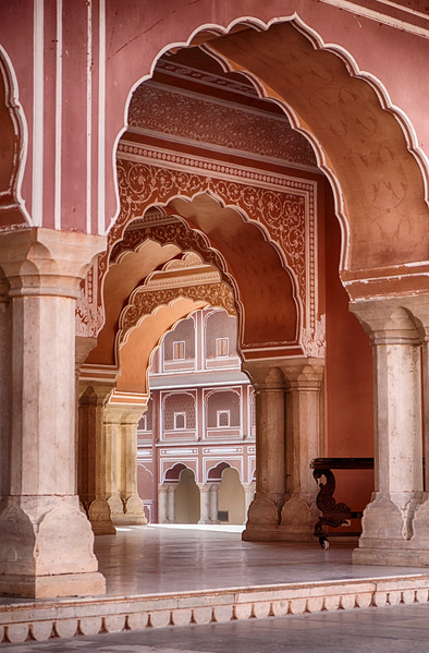 Arches In The City Palace