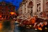 Fontana di Trevi (Trevi Fountain), Rome, Italy