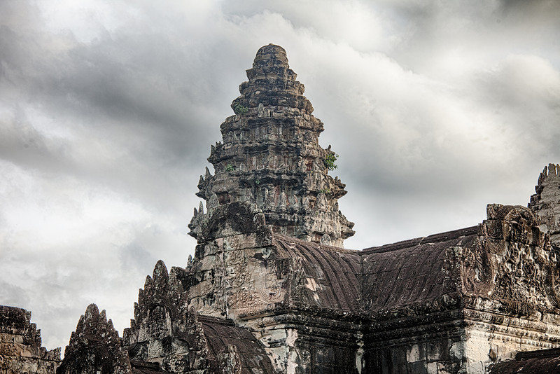 One Tower Of Angkor Wat