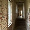 A hallway in the Atalaya House, Murrells Inset, SC.