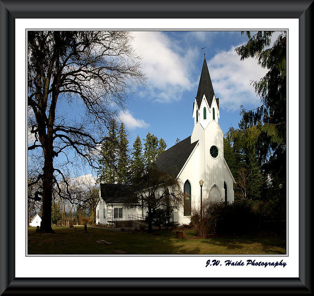 Old Scotch Church north of Hillsboro, Oregon
