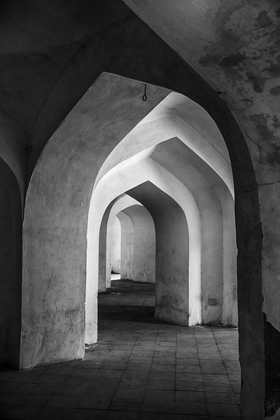 Arches In The Man Singh Palace