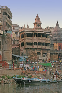 a house where widows wait to die and be cremated, Varanasi, India