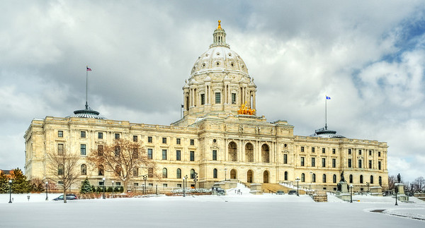 Minnesota State Capital, St. Paul MN---Arc-4034