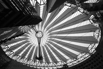 Spoked Eye  Sony Center, Potsdamerplatz, Berlin, Germany.