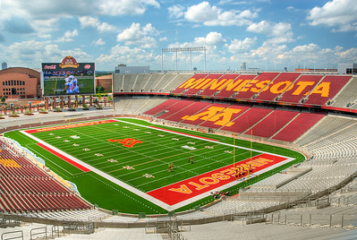 TCF Bank Stadium, University of Minnesota, Home of the Golden Gopher Football Team---Arc-4019