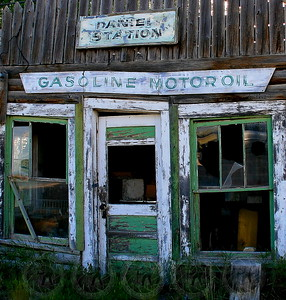 Old Gas Station - Daniel, Wyo
