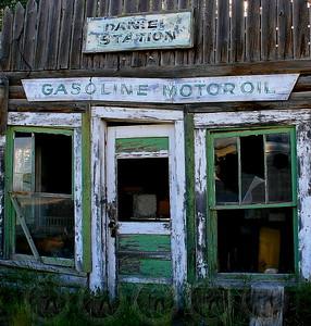 Old Gas Station - Daniel, Wyo