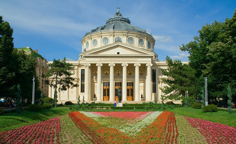 Romanian Athenaeum - Bucharest, Romania