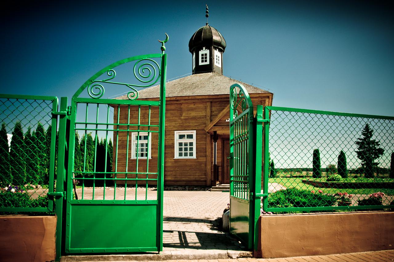 Tartar mosque in Bohoniki, Poland