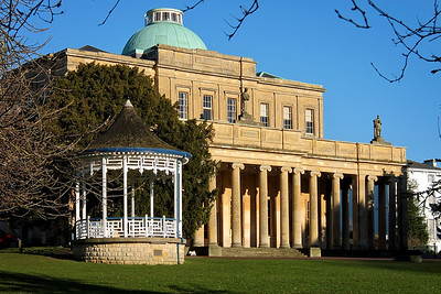 Pittville Pump Room and bandstand, Cheltenham