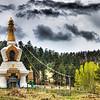Storm over the Stupa