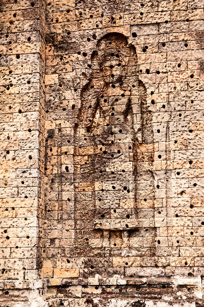 Figure in Wall Niche