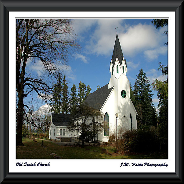 Old Scotch Church near Hillsboro, Oregon