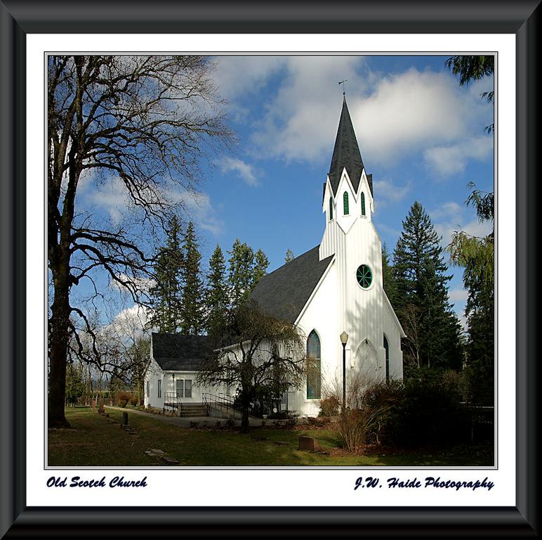 Old Scotch Church near Hillsboro, Oregon