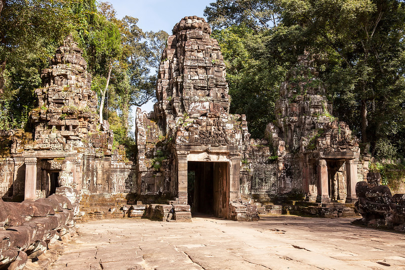 Entrance to Preah Khan Temple