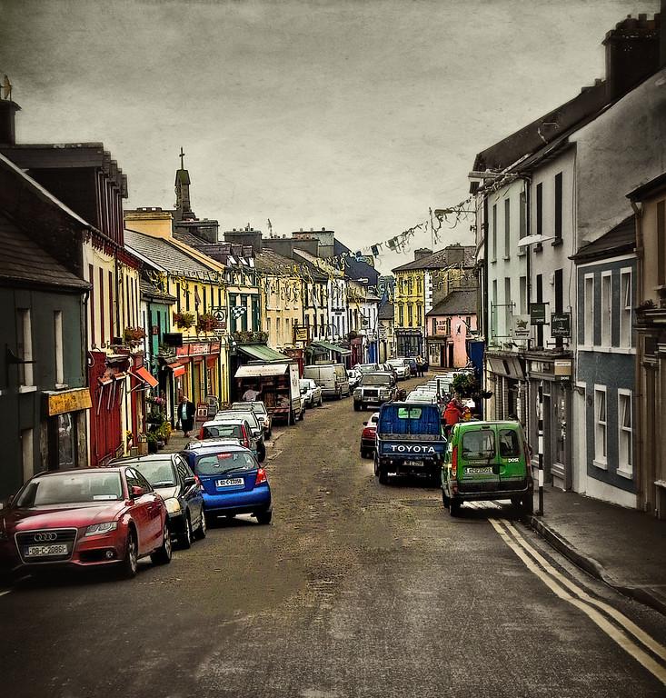 Irish Village Afternoon