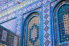 Tiles On The Dome Of The Rock