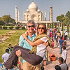 The Lapins' Bucket List Shot Of The Taj Mahal