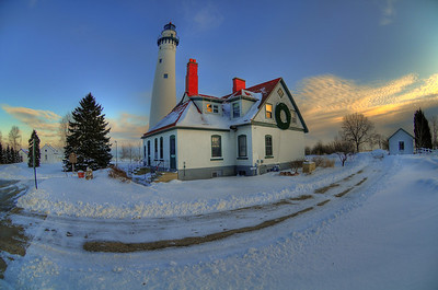 Wind Point Lighthouse. Racine, Wisconsin