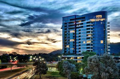 The Apartments, New Acton, Canberra.