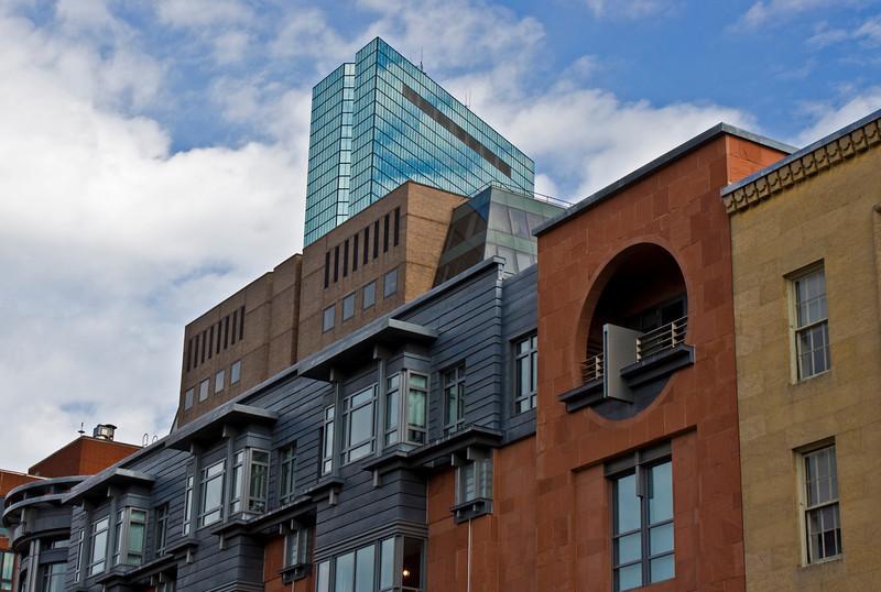 View from Newbury Street in Boston
