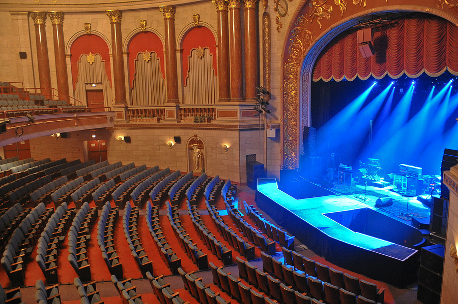 Carolina Theater before the fans