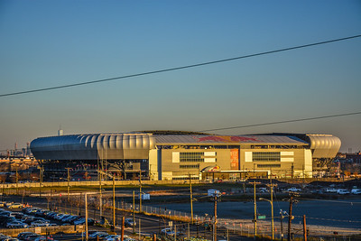 Early Evening at the Red Bull Arena
