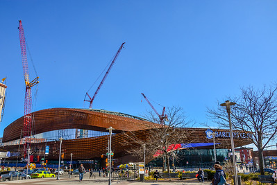 Barclay's Center in Downtown Brooklyn