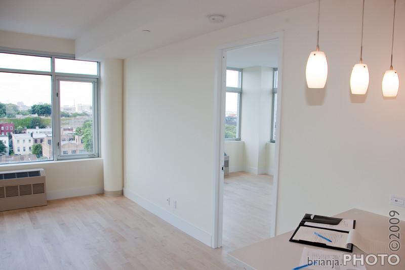 Kitchen --> Living Room / Master Bedroom