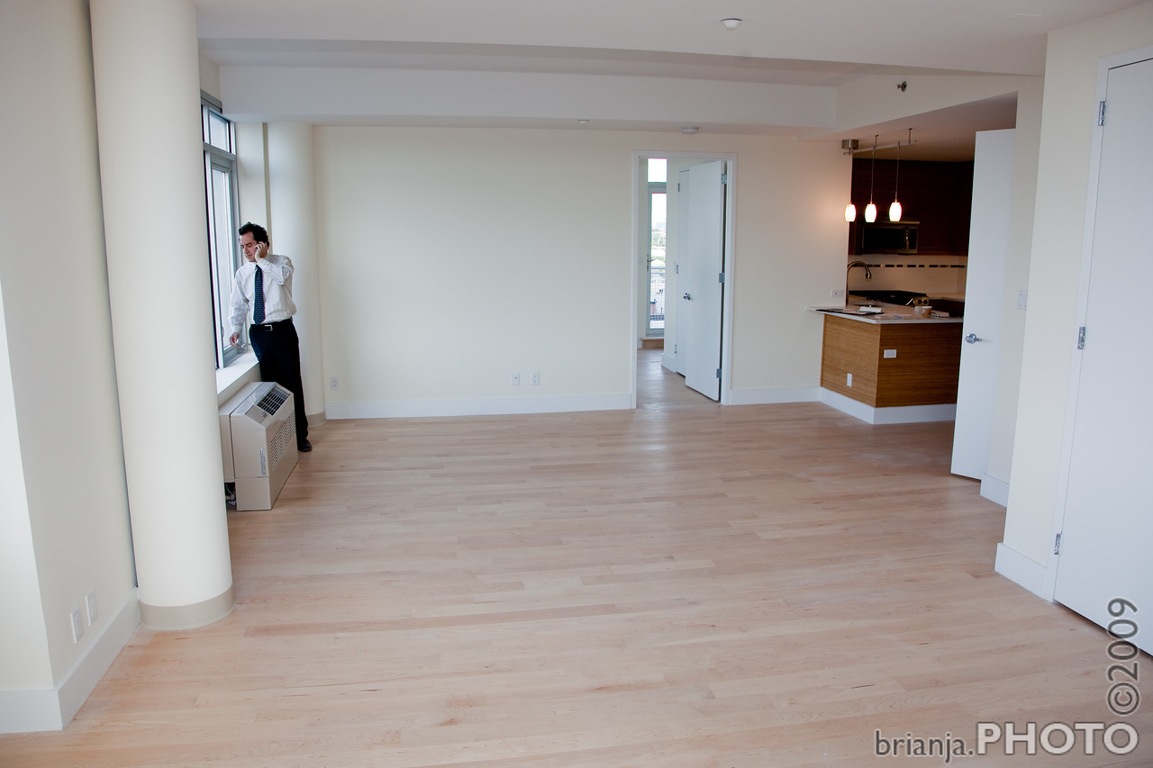 Dining Room --> Living Room / Kitchen