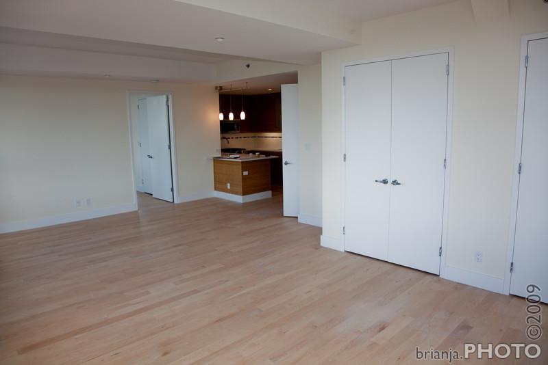 Dining Room --> Living Room / Kitchen