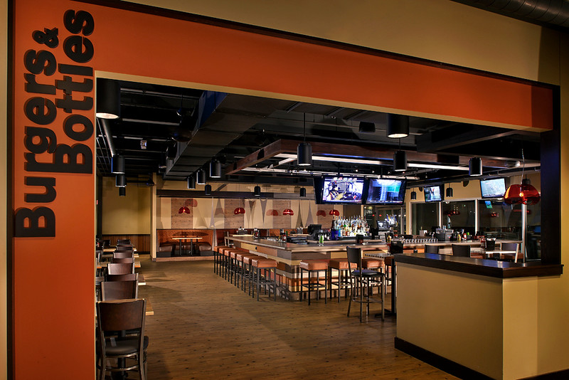 Commissioned by and licensed to Aria Group Architects, Arco Murray and Top Golf.  No other licensees are granted.  Possession alone of this photo does not constitute a use license.  A.G. Photography, Inc. pursues all cases of Copyright infringement.  Call for licensing info.