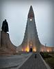 Halgrimskyrkja i Reykjavik