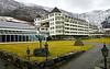 Ullensvang hotell i Lofthus<br /> <br /> Ullensvang hotel,from Lofthus in Hardanger,Norway