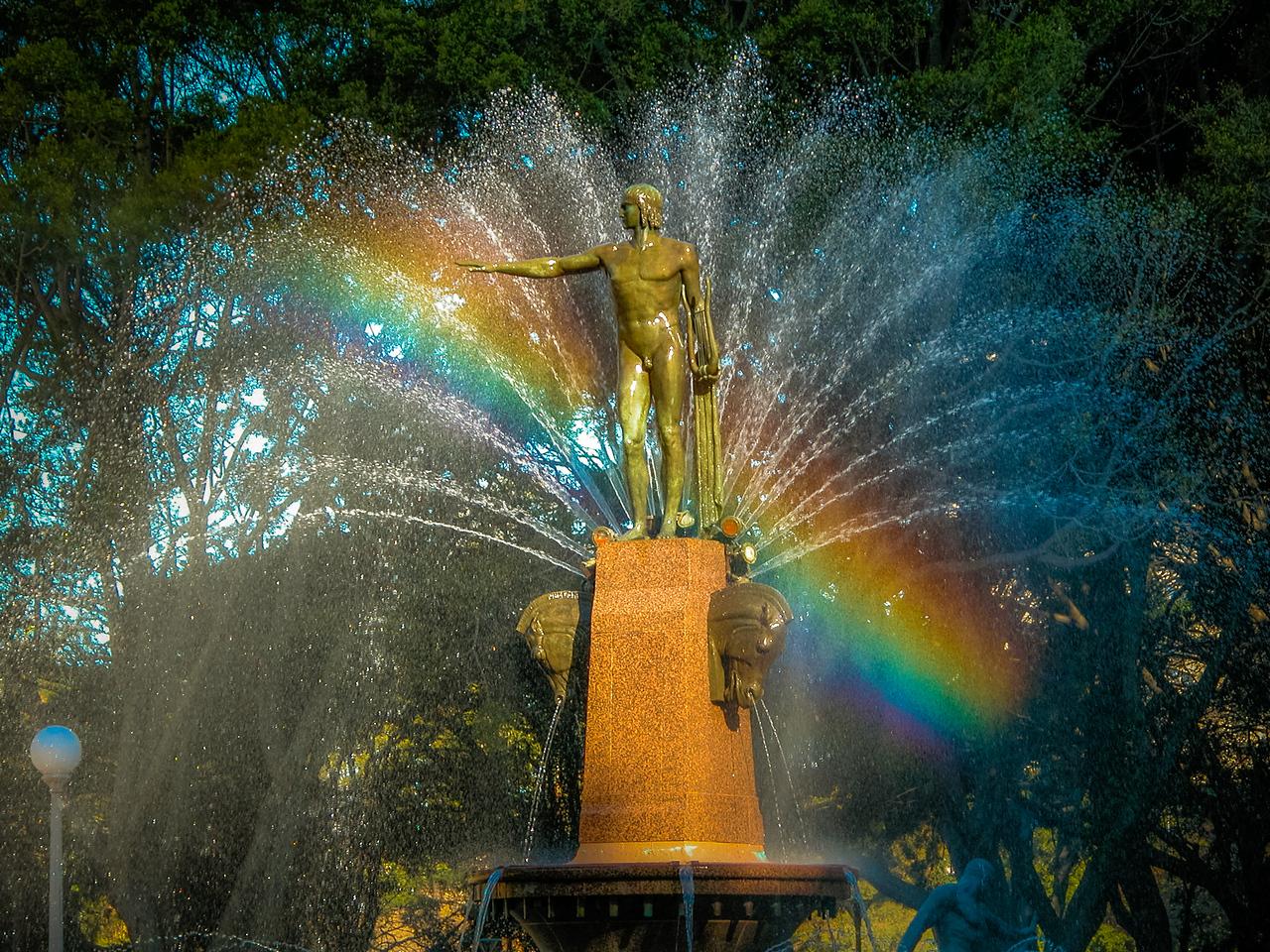 Hyde Park, Sydney, NSW, Australia