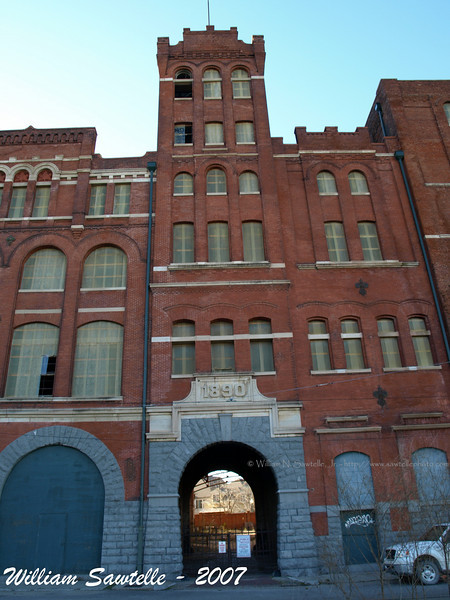 The Tennessee Brewery building.