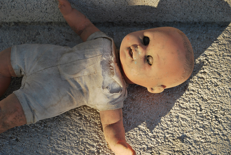 this is the other trash doll I found - I love things that other people throw away