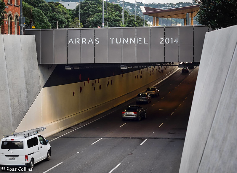Arras Tunnel, Te Aro, Wellington, 23 May 2018