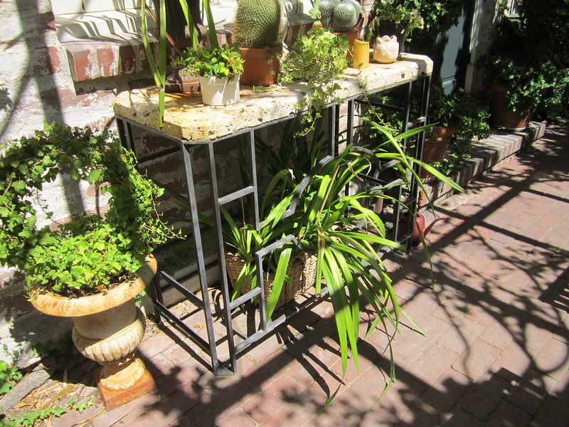 Garden table - Pyle residence